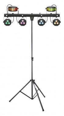 Cameo Multi FX BAR EZ LED Komplettanlage mit Stativ