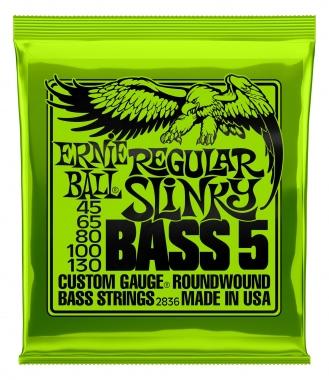 Ernie Ball 2836 Regular Slinky 5 Bass