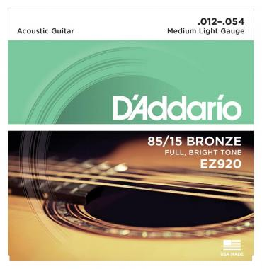 D'Addario EZ920 Medium Light