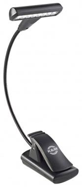K&M 12247 Notenpultleuchte T-Model LED FlexLight