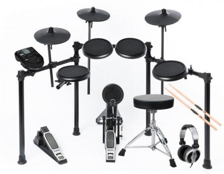 Alesis Nitro Kit E-Drum SET inkl. Hocker, Sticks & Kopfhörer