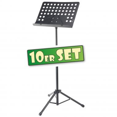 SET of 10 Pronomic OS-01P Stand, perforated sheet