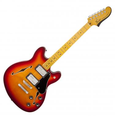 Fender Starcaster Guitar MN ACB  - Retoure (Zustand: sehr gut)