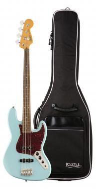 Fender Squier Classic Vibe '60s Jazz Bass LRL DPB Gigbag Set