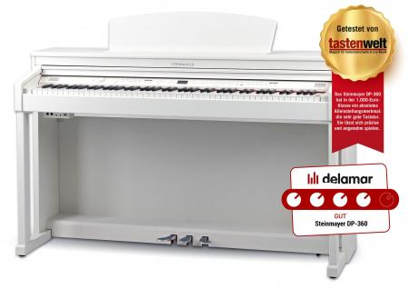 Steinmayer DP-360 WM Digitalpiano weiss matt  - Retoure (Zustand: sehr gut)