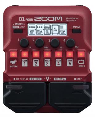 Zoom B1 FOUR Effektpedal