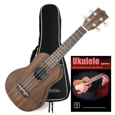 Classic Cantabile Ukulélé Noyer Soprano