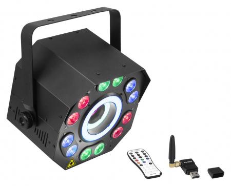 Eurolite LED FE-2500 Hypno Hybrid Lasereffekt QuickDMX Set