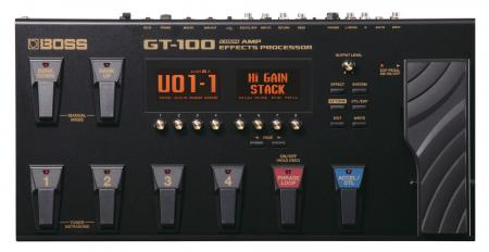 Boss GT-100 Gitarrenmultieffekt  - Retoure (Zustand: sehr gut)