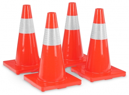 Stagecaptain LK-450 Traffic Cone 4-Piece Set