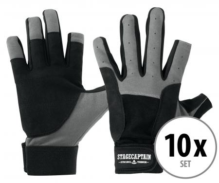 Set of 10 Stagecaptain Rigger Gloves M short