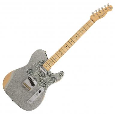 Fender Brad Paisley Road Worn Tele MN SLV