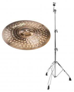 "Paiste 900 Series 20"" Heavy Ride + gerader Beckenständer SET"