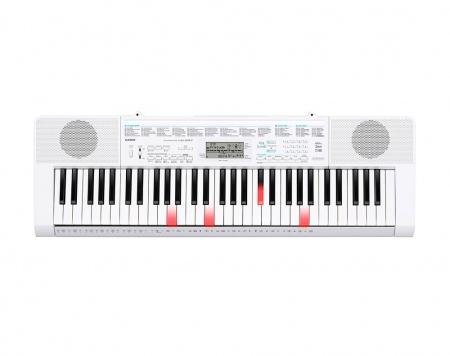 Casio LK-247 Leuchttasten-Keyboard: 61 Tasten, Mikrofoneingang, USB, Sampling
