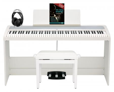 Korg B2SP WH Digitalpiano Deluxe Set Weiß