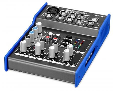Pronomic M-502U USB mini table de mixage