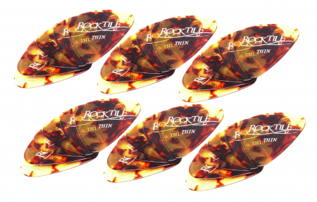 Rocktile Classic Pick/Plektrum 36er Pack Thin