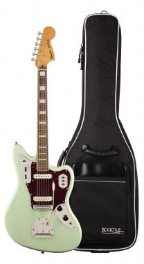 Fender Squier Classic Vibe '70s Jaguar LRL SFG Gigbag Set