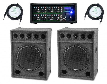 Pronomic PM82-Festival StagePower Set