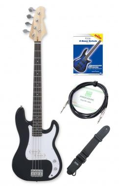 Rocktile Puncher E-Bass Set Schwarz