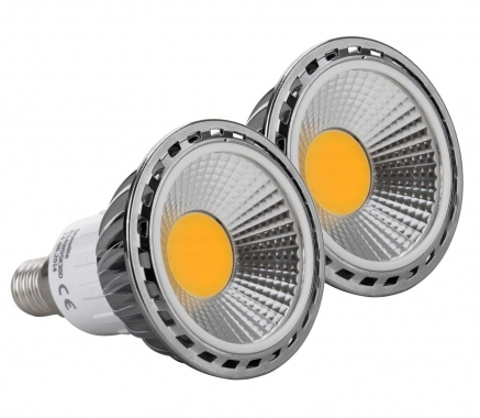 2x SET Showlite LED Spot E14W05K30N 5 Watt, 330 Lumen, Sockel E14, 3000 Kelvin