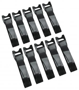 Pronomic KB-200N Hook and Loop Cable Ties 200mm 10-pack