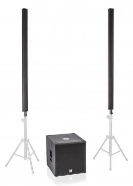 HD ML16/P15 Multi DSP Aktivsystem 2200 W 2x ML16, 1x P15 Sub, Cover/ Taschen