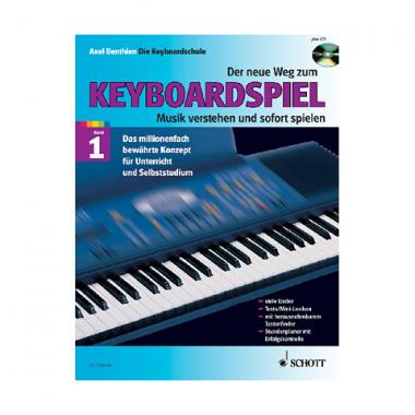 Der neue Weg zum Keyboardspiel Band 1 mit CD