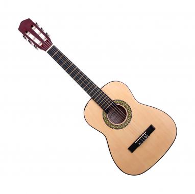 Classic Cantabile Acoustic Series AS-851-L Klassikgitarre 1/2 für Linkshänder  - Retoure (Zustand: akzeptabel)