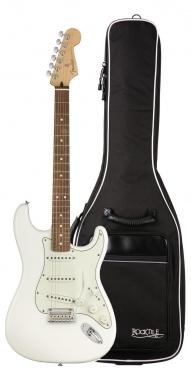 Fender Player Strat PF PWT Gigbag Set
