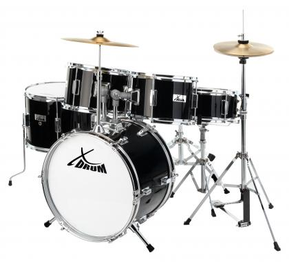 XDrum Session Junior Pro Drumset Kinderdrumstel (Zwart)