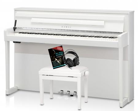 Kawai CA-99 W Digitalpiano Set Weiß matt