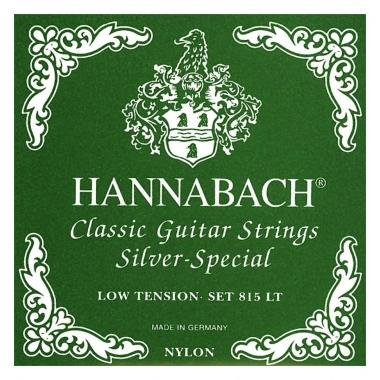Hannabach 815 LT Saiten Low Tension grün