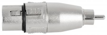 Pronomic AD-CMXF Adapter Cinch/RCA Male / XLR Female