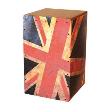 """VOLT Cajon """"Union Jack""""  - Retoure (Zustand: gut)"""