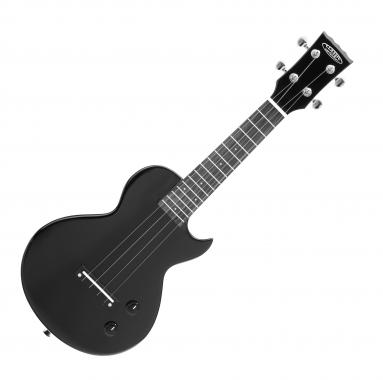 Classic Cantabile UE-200L BK electric ukulele, Single Cut, black