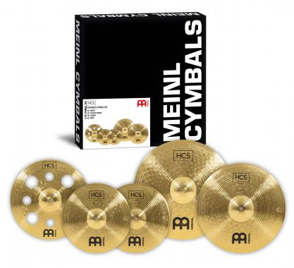 Meinl HCS Expanded Cymbal Set