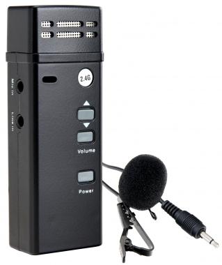 McGrey UB-2GA transmisor de radio de bolsillo Bodypack 2.4 GHz