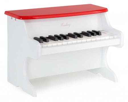 FunKey MP-25 mini jouet piano pour enfants blanc