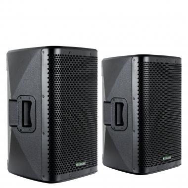 "Pronomic C-210 MA 10"" Aktivbox 400 Watt Stereo Set"