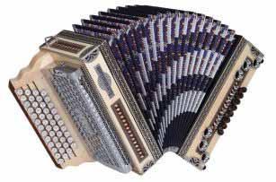 Kärntnerland Kunst Zillertal Harmonika 4/III G-C-F-B