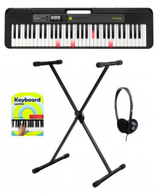 Casio LK-S250 Leuchttasten Keyboard Starter Set