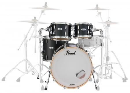 "Pearl MCT924XEFP/C339 Shell Kit Matte Caviar Black 22"" BD, 10"", 12"" TT, 14"" FT"