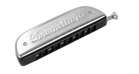 Hohner Chrometta 10 C Mundharmonika