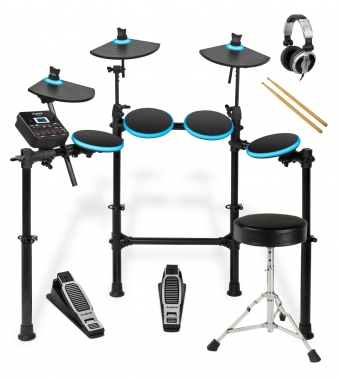 Alesis DM Lite Electronic Drum Kit Complete with Stool, Headphones and Sticks