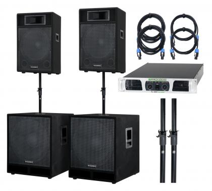 McGrey Powerstage-4400 PA-System 4400 Watts
