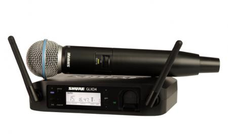 Shure GLXD24/Beta58 Z2 Digital Vocal Funksystem