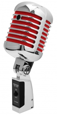 Pronomic DM-66S Elvis microphone dynamique rouge