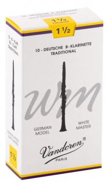 Vandoren 10er Pack Bb-Klarinette (1,5) WM