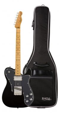 Fender Squier Classic Vibe '70s Tele Custom MN BLK Gigbag Set